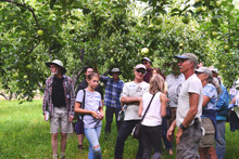 Farm tour to explore diversifying production